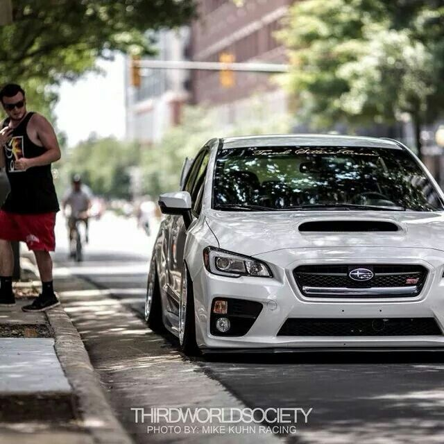Bagged 2015 subaru wrx sti Like Nice Cars? Follow Me 4 Way Môre !
