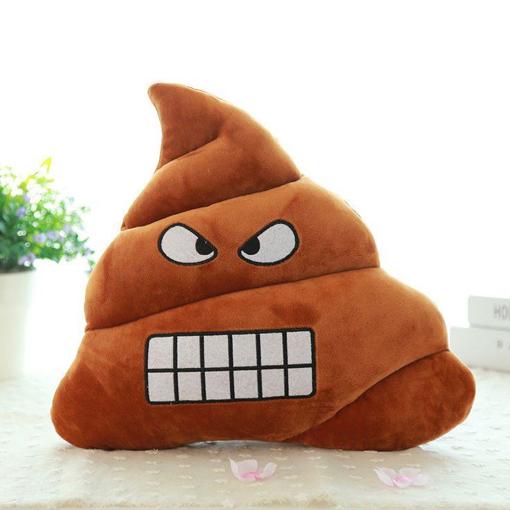 4 эмоцию узоры забавно смешные куклы бросить подушку плюшевые игрушки фекалии Poo форма творческий подушка мягкая подушка подарок оптовая продажа # купить на AliExpress