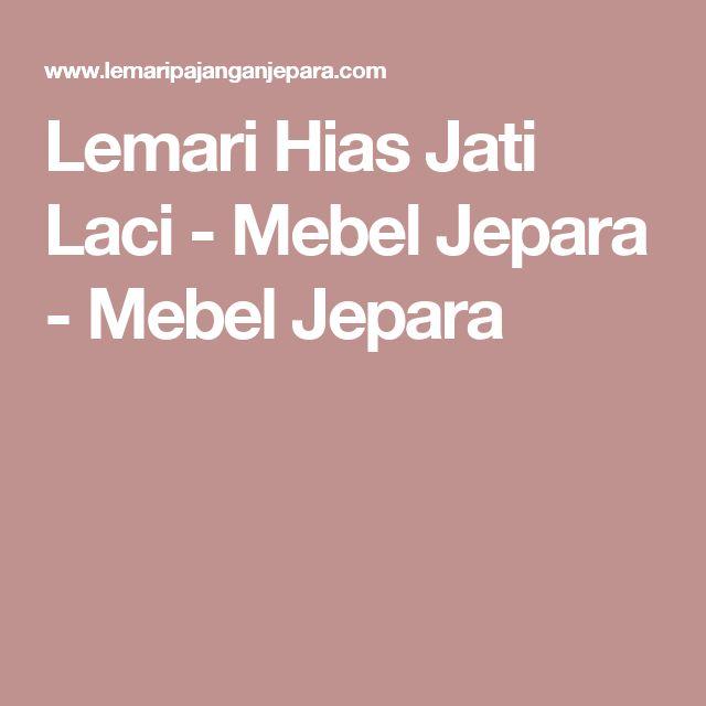Lemari Hias Jati Laci - Mebel Jepara - Mebel Jepara