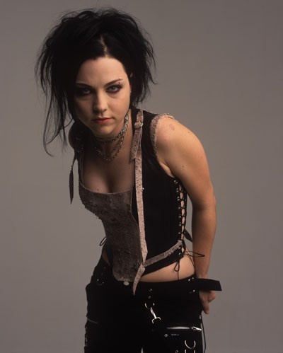 Amy Lee style- like the pants and necklace! She never claims to be goth, but she definitely had an affinity for it.