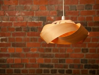 Wood veneer light shade - Wrap | Felt