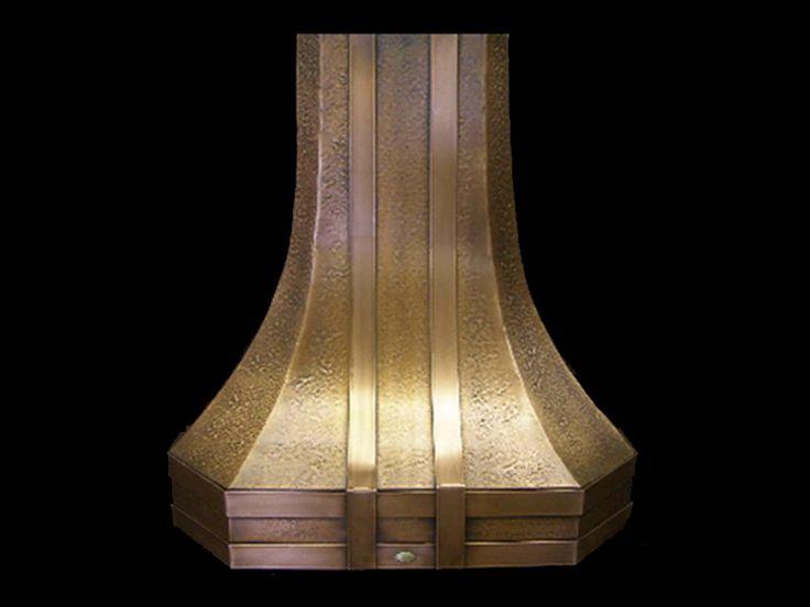copper range hoods rangehoods stove hoods vent circle city copperworks - Stove Hoods