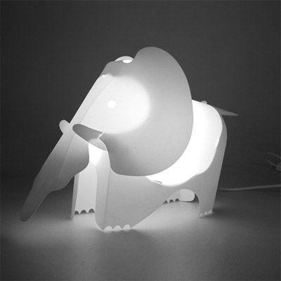 아이디어펀 아기코끼리 인테리어 조명