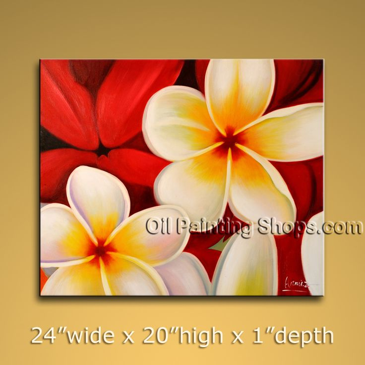 Astonishing Wall Decorating Ideas Hand-Painted Art Paintings For Living Room Egg Flower. In Stock $72 from OilPaintingShops.com @Bo Yi Gallery/ ops1928