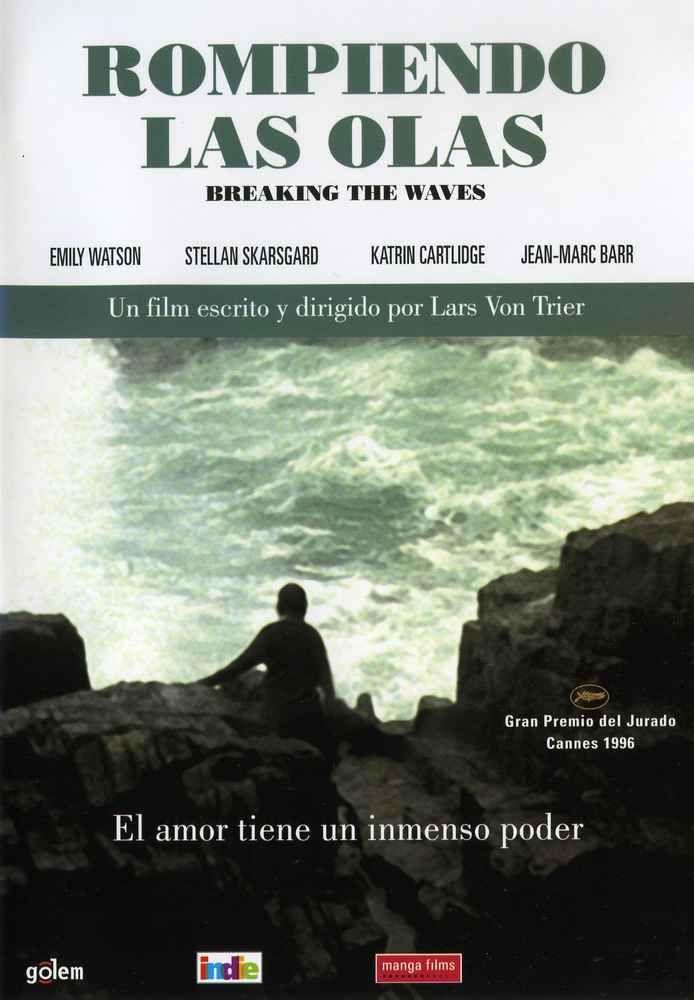 Rompiendo las olas (1996) Dinamarca. Dir: Lars Von Trier. Drama. Discapacidad. Películas de culto - DVD CINE 48