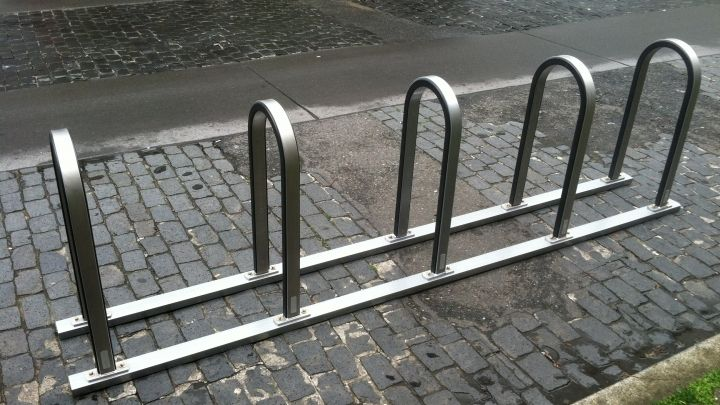Westport Bike Rack From Sportworks Features Stainless