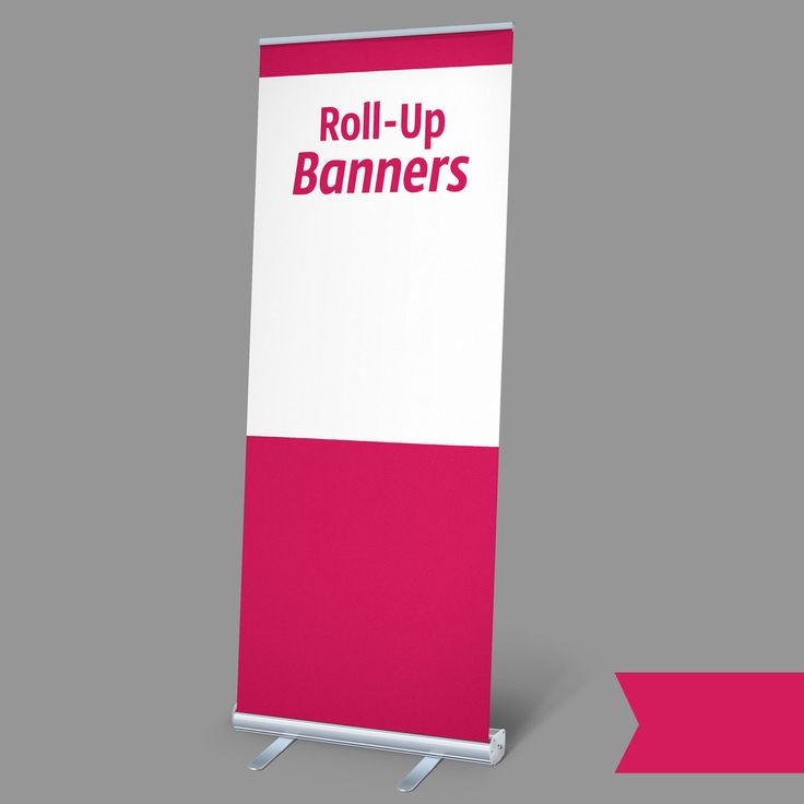 how to put up a banner stand