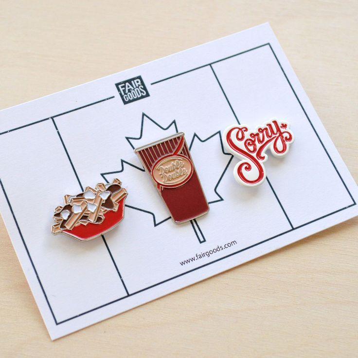 Canadian Pin Set – Fairgoods