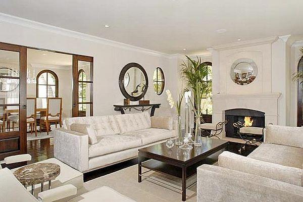 Kim Kardashian Decor House Inspiration Living Rooms Kim Kardashian