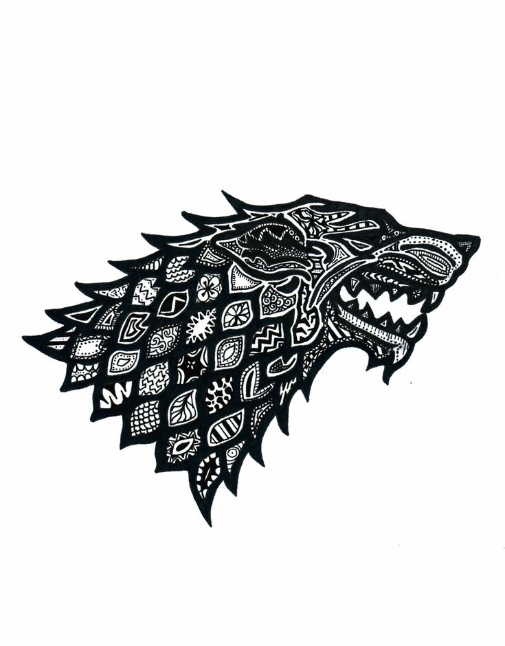 Fantastic Doodles of the Major House Sigils ... | Game of Thrones Fan Art