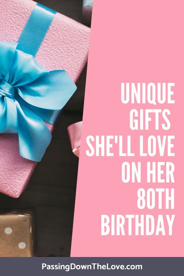 80th Birthday Gift Ideas For Her Birthday Gifts For Grandma