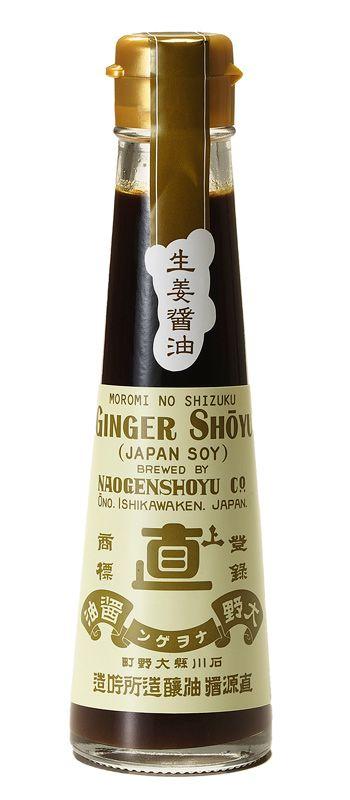 醤油処 直江屋源兵衛 - もろみの雫 生姜醤油 120ml