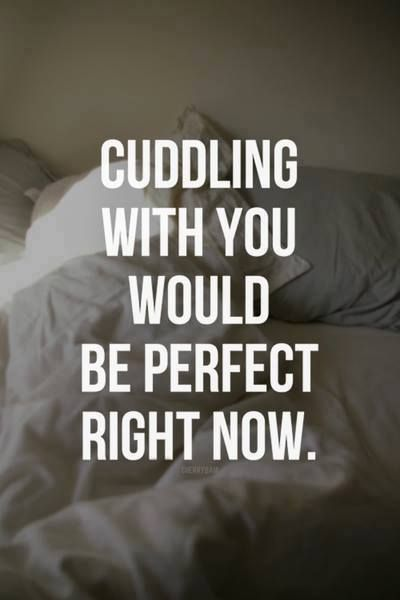 Love to cuddle!