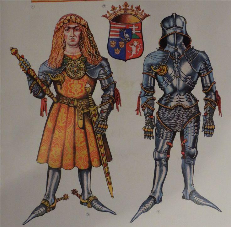King Mathias Corvinus of Hungary in his armour.