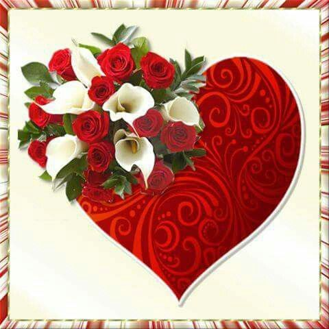 best hearts and love images on, Beautiful flower
