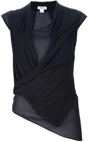 Wrap Around Jersey Blouse Size 6 65