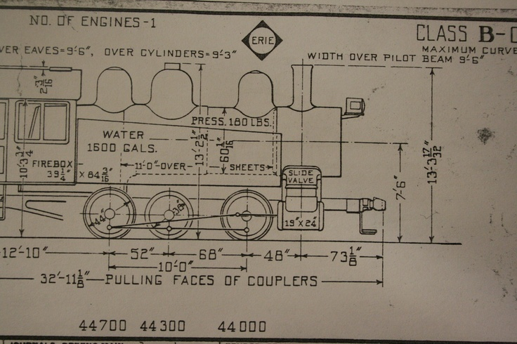 77 best railroad blueprints technical drawing whiteprints and over 100 pages of blueprints of erie lackawanna rr steam engines from malvernweather Choice Image