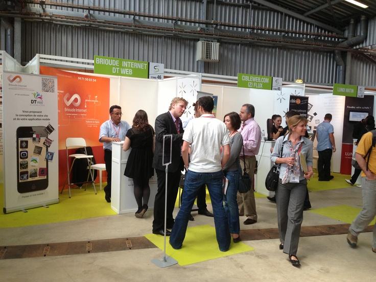 Salon #connecsud #econnecsud à #Montpellier le  4 Juin 2013 en compagnie de #dtweb - On parle #mobile #referencement #visibilite