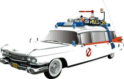 Ecto-1 Ambulance Siren For Ghostbusters Cars