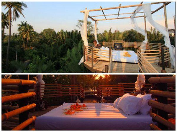 Este resort ecológico na Tailândia, localizado a poucos quilômetros das movimentadas ruas do centro de Bangcoc, é um exemplo do design sustentável passivo.