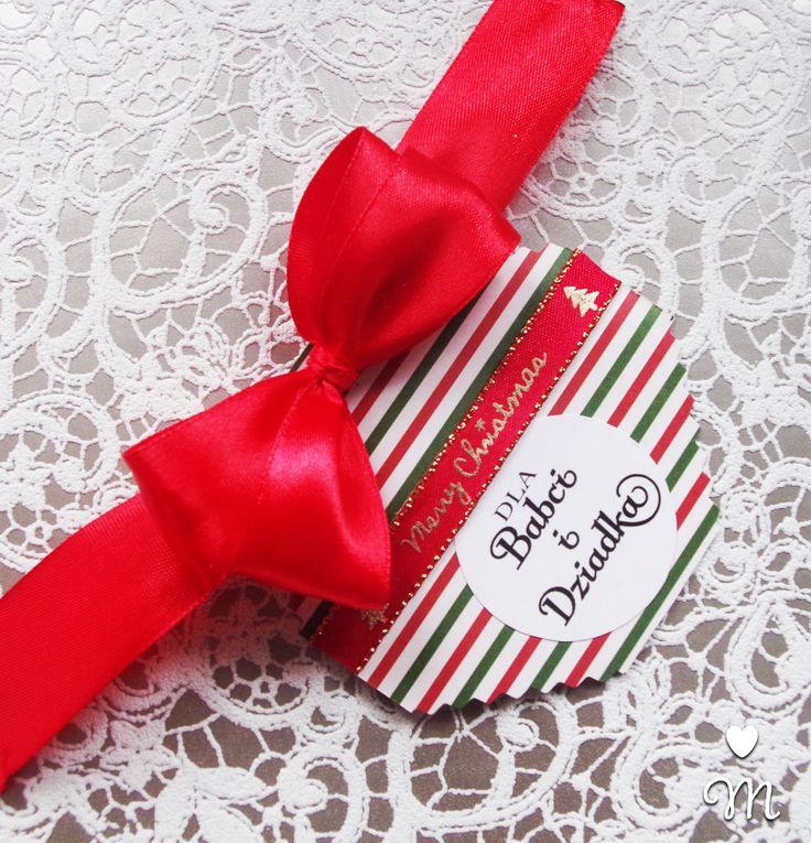 Prezent dla Babci i Dziadka z życzeniami! #handmade #gift #dziadkowie #prezent #świątecznie  Kontakt: mummy4littleone@gmail.com