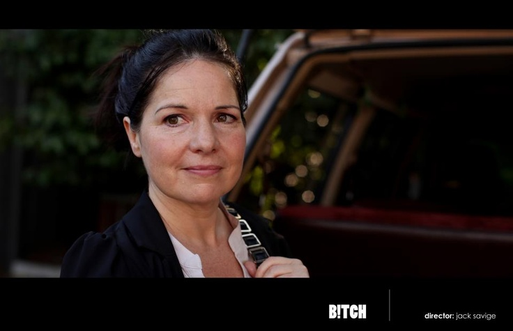 """My beautiful friend and fellow actress Perri Cummings in the pilot episode of a new Aussie comedy series """"B!tch"""""""