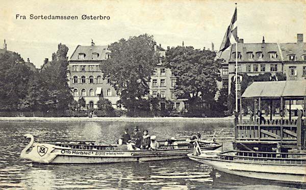 Ferry port! Østerbrogade (1910). Copenhagen. Denmark
