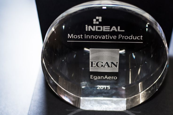 Egan 2015 INDEAL Award for Most Innovation Product - EganAero