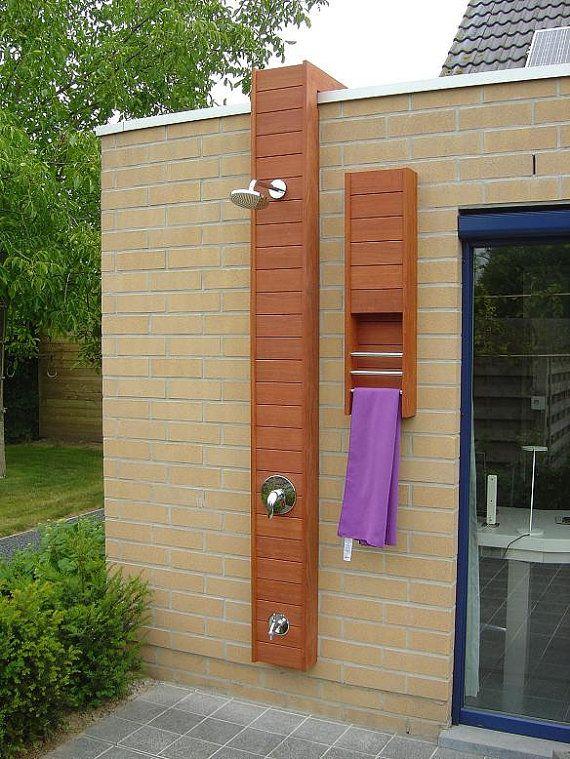 tuindouche / outdoor shower /garden art /outdoor furniture/ pool shower / Hot tub shower