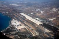 Vista aérea del Aeropuerto de Gran Canaria