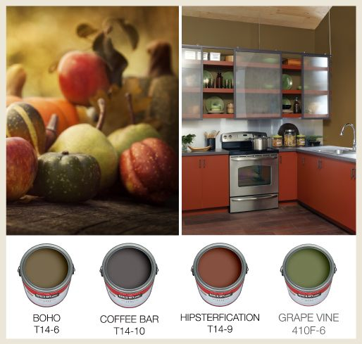 Olive Kitchen Paint: Harvest Time: Pumpkins And Gourds Come In A Wide Range Of