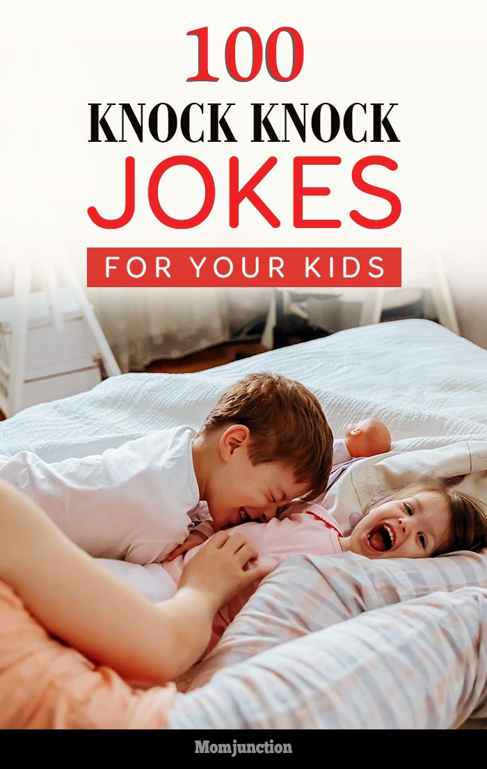 100 Funny Knock Knock Jokes For Your Kids: get ready for some laughter and fun with our collection of knock-knock jokes for kids!