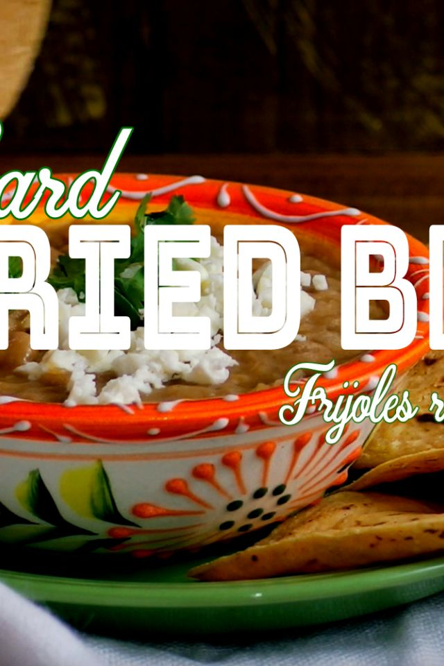 How to Make Refried Beans Without Lard (Our Latest Video Recipe)