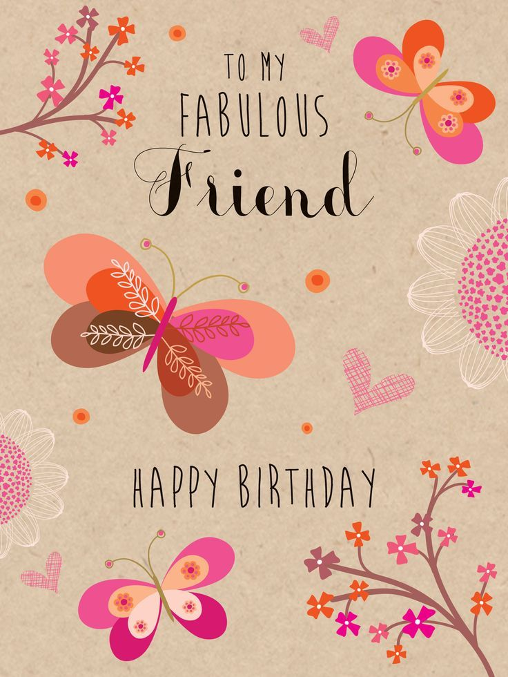 39 best Birthday Wishes images – Happy Birthday Cards for a Friend