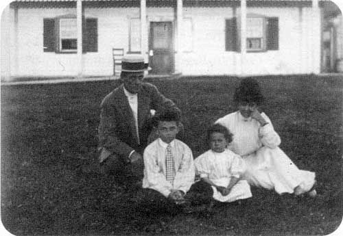 Sinclair family photos taken at Norway House, 1902-11. From an article in Manitoba History.