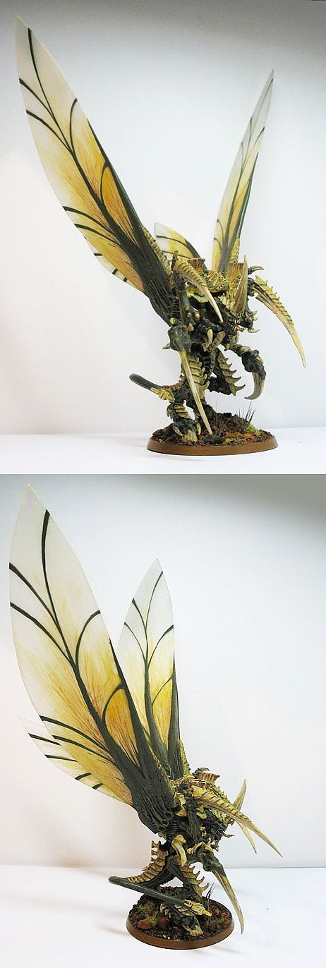 40k - Winged Hive Tyrant (Tyranids):