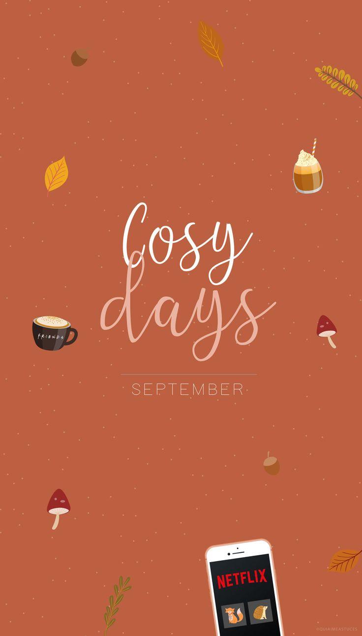 FOND D'ÉCRAN #23 – COSY DAYS • AUTOMNE (3 coloris)