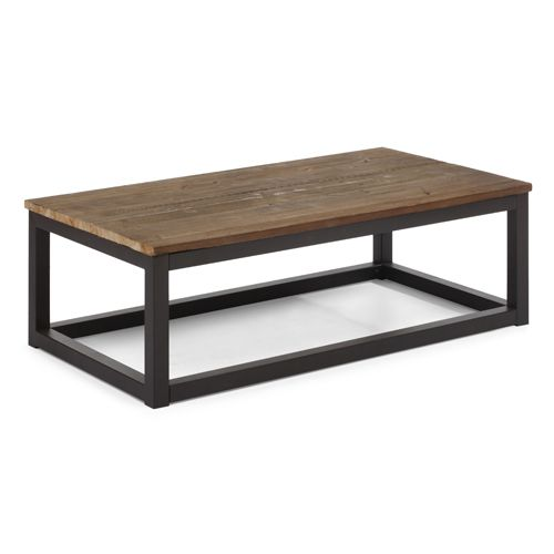 Civic Center Distressed Natural Fir Wood Long Coffee Table. 112 best Living Room images on Pinterest   Accent furniture