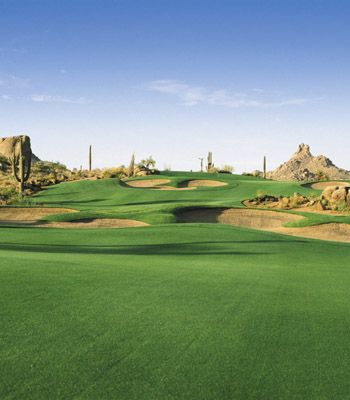 Troon North Golf in Scottsdale Arizona-amazing golf course!!