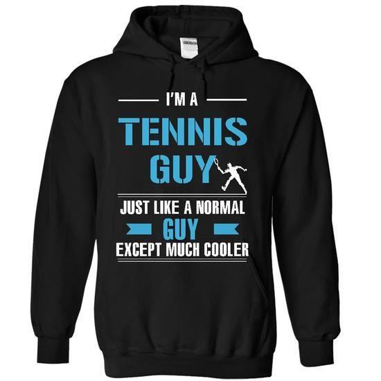 Tennis guy is cooler #tee women #hoodie creepypasta. BUY TODAY AND SAVE   => https://www.sunfrog.com/LifeStyle/Tennis-guy-is-cooler-5651-Black-10086523-Hoodie.html?id=60505