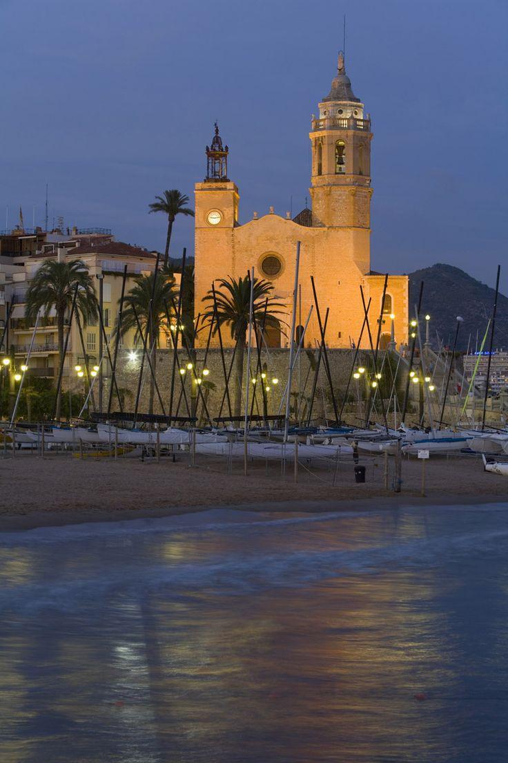 Playa La Fragata, Sitges, Barcelona