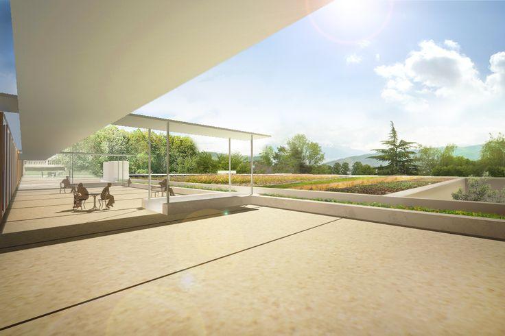 POISY - terrasse