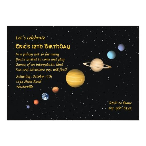 5dd97591d1b23a7bfb58b4f5a280fe6e astronaut party th birthday 374 best outer space birthday party invitations images on pinterest,Space Birthday Party Invitations
