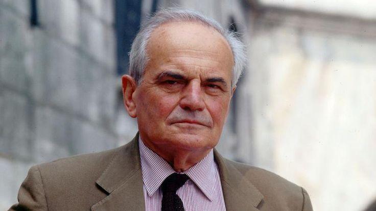 L'écrivain Michel Déon en juin 1993. Mort de l'écrivain et académicien le mercredi 28.12.2016 à 97 ans