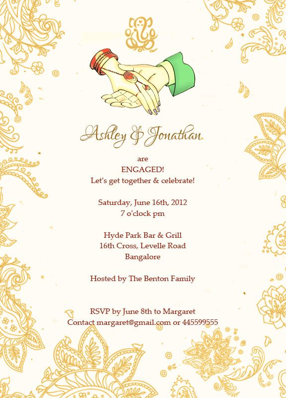 Saree Ceremony Invitation Sms Invitationsweddorg