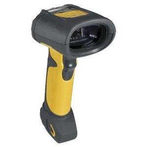 Zebra Symbol LS3408-ER Handheld Barcode Scanner - Cable Connectivity - Yellow, Black - 36 scan/s - Laser