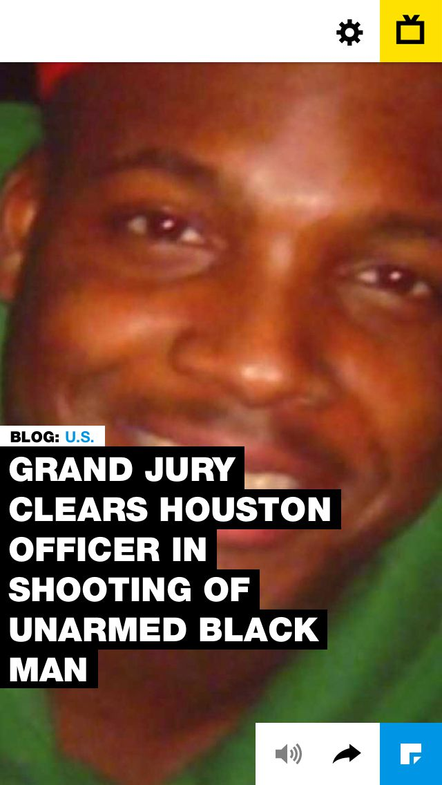 Grand Jury Clears Houston Officer in Shooting of Unarmed Black Man Riding Bicycle