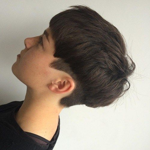 Textured Bowl Cut With Undercut
