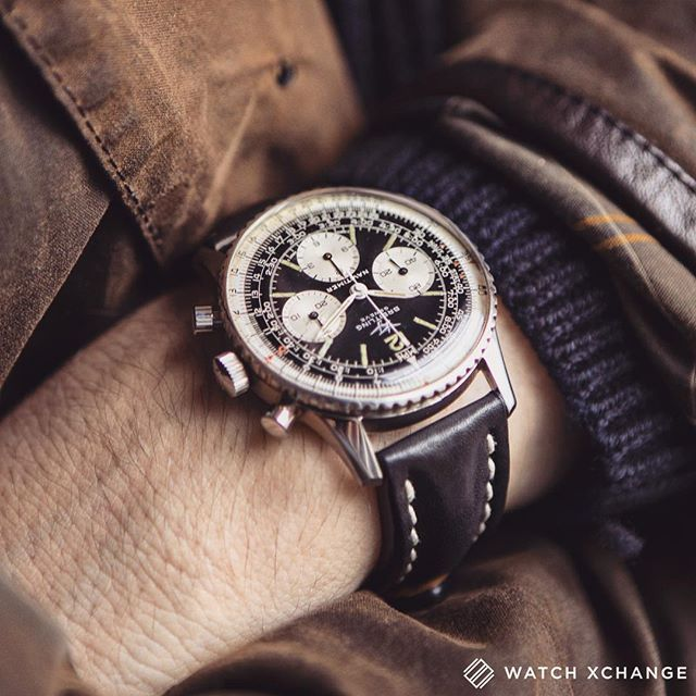 Ready for Anything - A fantastic #vintage #Breitling #Navitimer 807 from c.1967 - Available at watchxchange.london