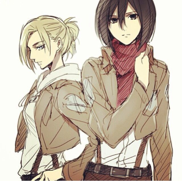 93 Best Images About Annie The Female Titan On Pinterest